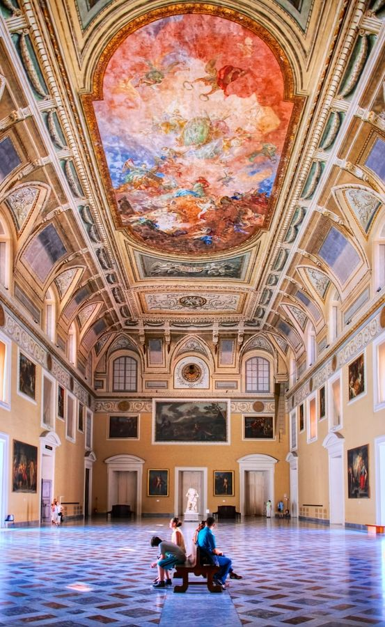 Naples, Italy - Galleries and museums are the perfect way to spend a day for not much money at all. In most of Europe under 25's go free.. #nectarlifestyle