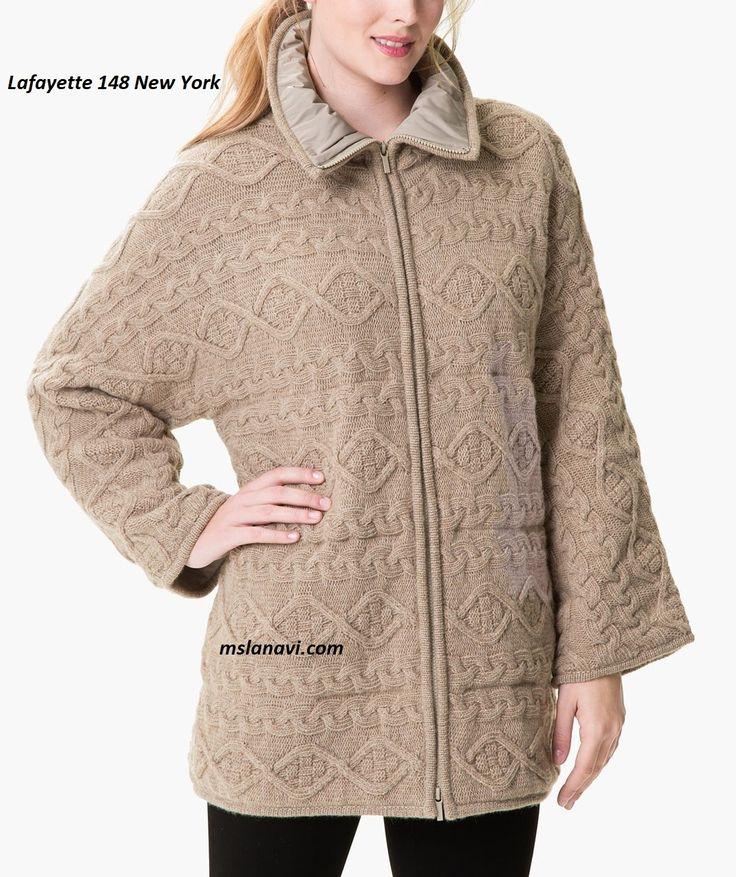 Вязаное пальто спицами от Lafayette 148 New York - СХЕМЫ  http://mslanavi.com/2017/08/vyazanoe-palto-ot-lafayette-148-new-york/