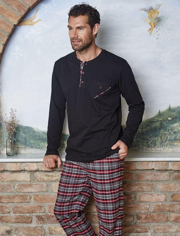 PJS Cepli Pijama Takımı 8808 #gizliçekmece #erkekgiyim #pijama #yenisezon #evgiyim #erkek