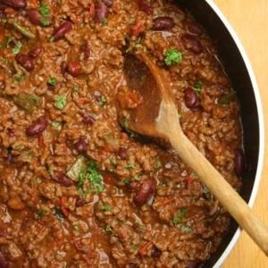 A slow cooker recipe on SlowCookerClub.com called 'Awesome Chilli Con Carne' - Chilli Con Carne is a classic slow cooker recipe that's easy to make and guaranteed to please the crowds!