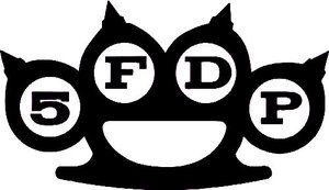Five Finger Death Punch Vinyl Decal Sticker