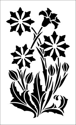 Laurelhurst Craftsman Bungalow: Reproduction Stencils. Design from Arts & Crafts Stencilling by W.G. Sutherland, 1910. Blog post includes information about where you can still buy it.