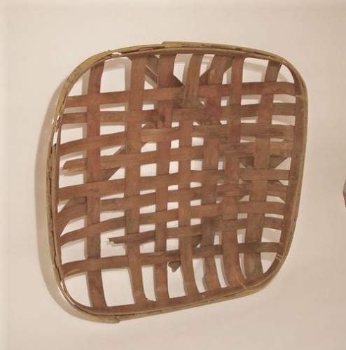 Primitive Tobacco basket.