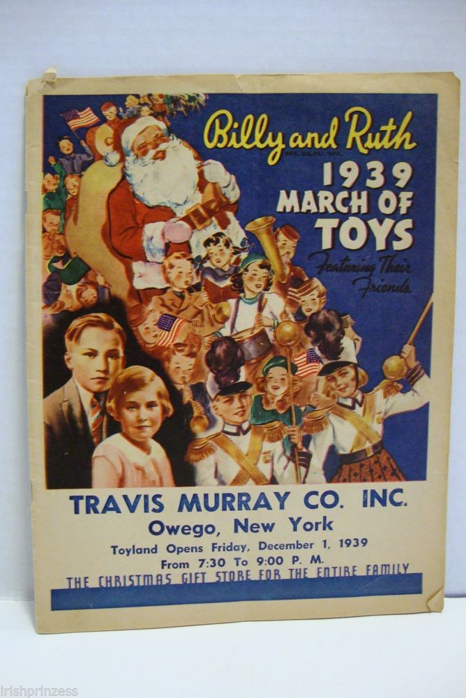 1939 Billy & Ruth's March of Toys Christmas Catalog Travis Murray Co. Inc.
