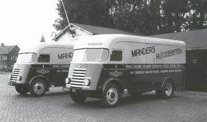 DAF truck,7-strepers 1950
