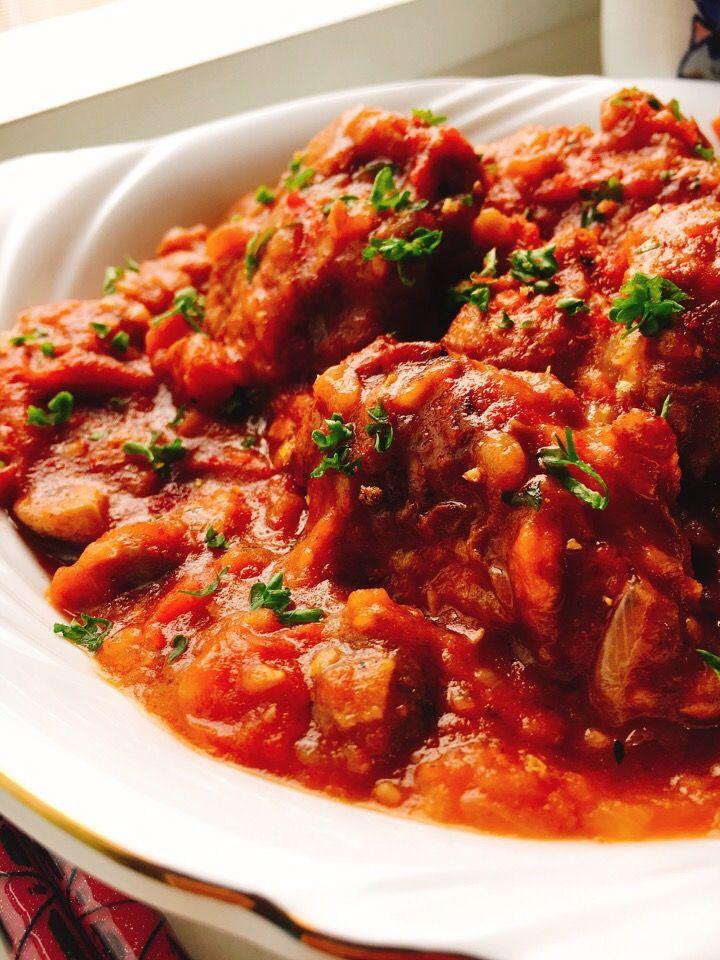 misuzu's dish photo 鶏肉のトマト煮 チキンカチャトーラ | http://snapdish.co #SnapDish #レシピ #美容/ダイエット #簡単料理 #煮物 #肉料理 #イタリア料理