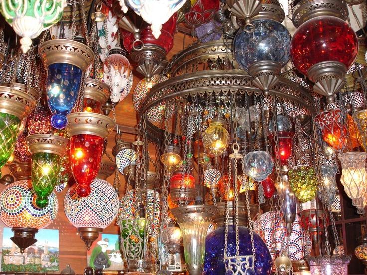 Turkish lanterns!