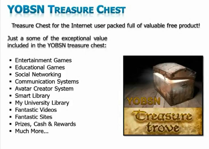 Treasure Chest For The Internet User Packed Full Of Valuable Free Product!  #social   #socialnetworking   #money   #Prizes   #cash   #Rewards