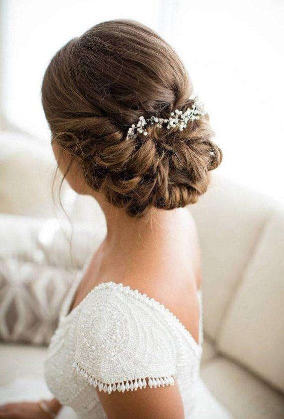 Bridal Hair Accessories Wedding Hair Accessory Delicate Hair Etsy Hair Vine Wedding Wedding Hair Inspiration Bridal Hair