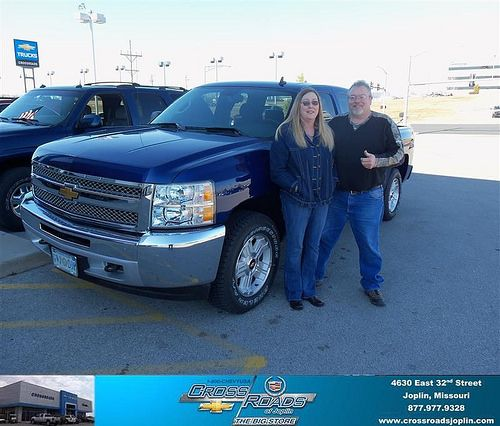 Happy Anniversary to Stanley Shafer on your 2013 #Chevrolet #Silverado 1500 from Gary Neal  and everyone at Crossroads Chevrolet Cadillac! #Anniversary