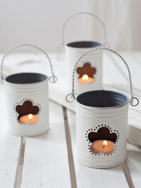 hurricane lanterns | Flower Hurricane Lanterns - Nordic House