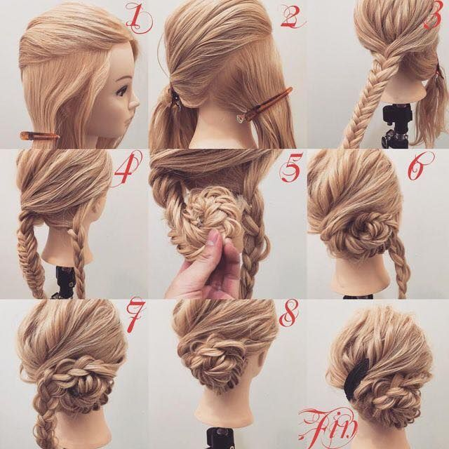 Cara Mengikat Rambut Panjang Mudah dan Simple (Step ...