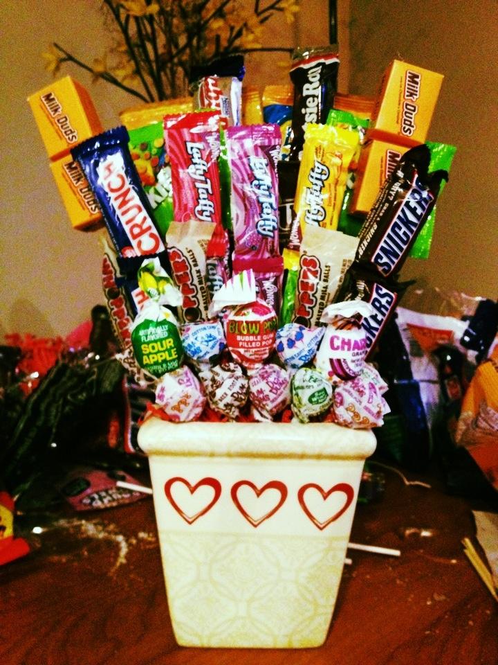 17 Best Ideas About Candy Arrangements On Pinterest
