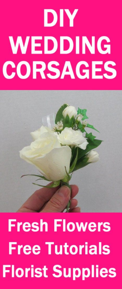 Easy Step By Tutorials For Bouquets Corsages Boutonnieres And Centerpieces
