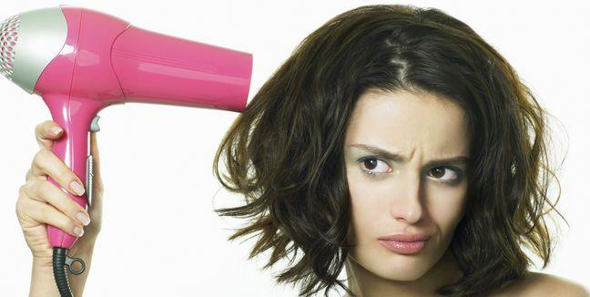 Cómo utilizar correctamente el secador de pelo.