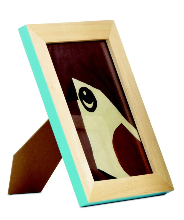 BOCONCEPT - cadre en bois bleu turquoise  #cadre #photo #wood #bois #color