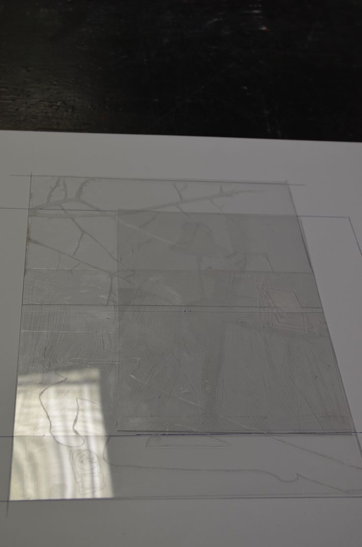Group drypoint of the painting