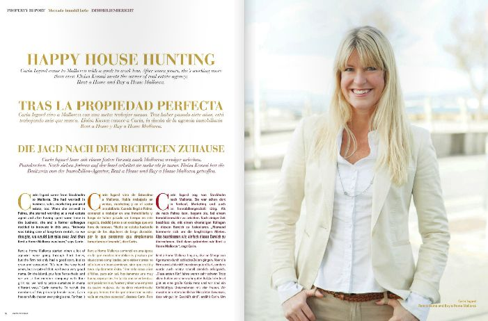 We are featured in the abcMallorca winter issue 2013/2014