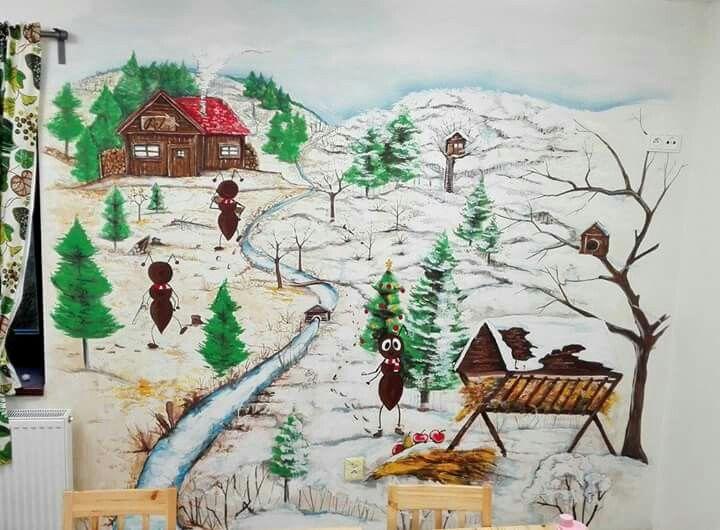 Forest _ ant _ winter. Mravenec Lesík
