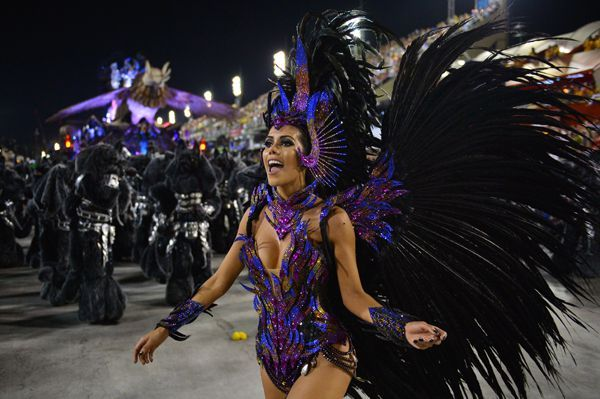 See All the Fabulous Costumes From Rio's Carnival - Cosmopolitan.com