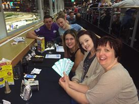 Our competition winners enjoying their night #Lovethedogs #dogs #dogracing   http://www.lovethedogs.co.uk/hallgreen
