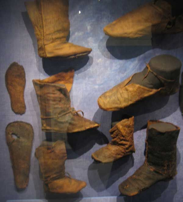 Shoes at the Viking Museum in Ribe, and I need new shoes, so this is perfect!