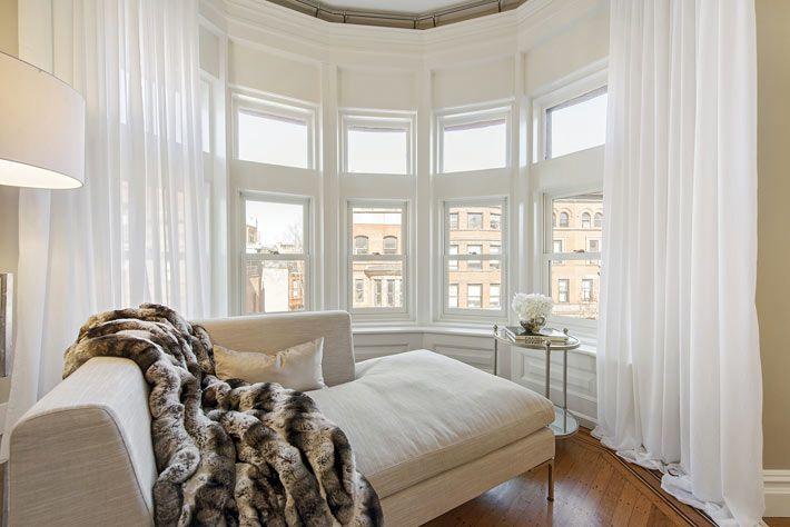 Сдержанная роскошь в дизайне интерьера квартиры в Нью-Йорке