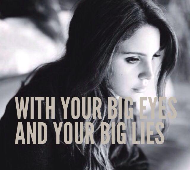 Lana Del Rey #LDR #Big_Eyes