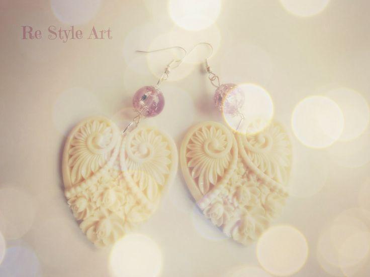 Earrings handmade follow us at Re Style Art