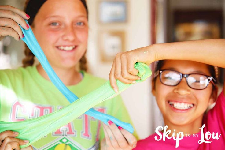 how to make slime safe