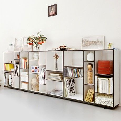 Black Kubus Shelving Unit by Authentics from Soeurs Bénis