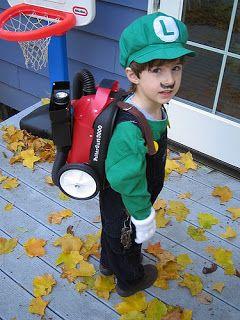 fortend: Luigi's Mansion Costume