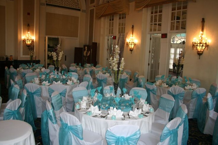 Tiffany Wedding  . For God save the Queen! It is ROBIN EGG BLUE and NOT tiffany blue, using this color does not make your wedding a tiffany wedding.