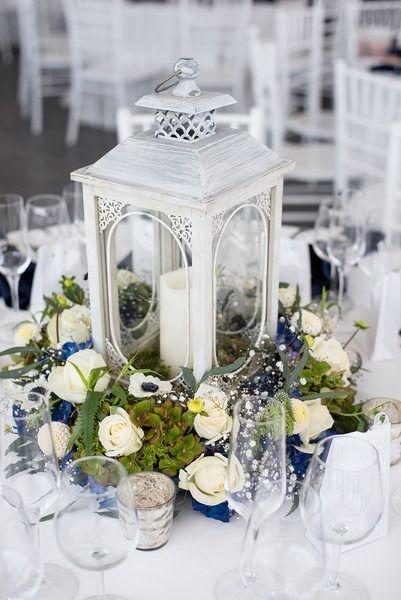 Roses And Eucalyptus Vase
