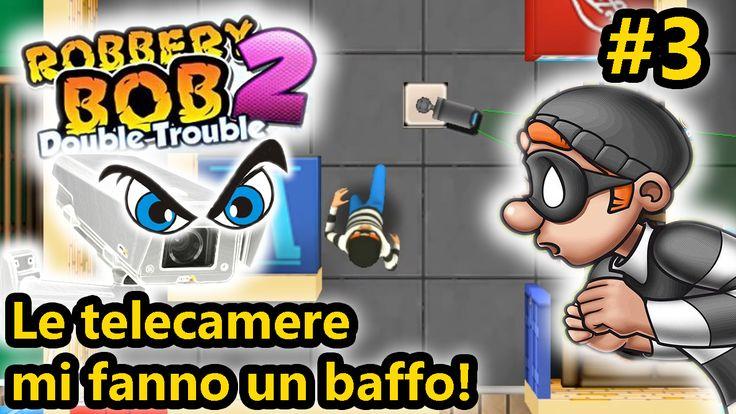 Robbery Bob 2 - Io contro le telecamere! Oggi nuovo episodio di Robbery Bob 2! In questo gioco vestiamo i panni di un piccolo ladro che si ritrova a fare lo sporco lavoro per mano di un boss, padre della sposa a cui ha rovinato la torta! Ne #robberybob #android #giochiandroid