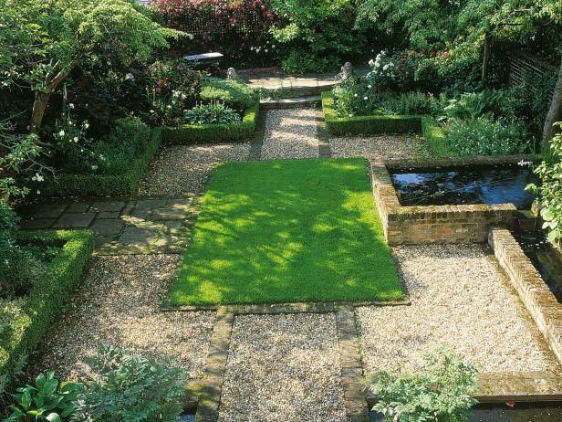 1000 images about the garden on pinterest gardens for Rectangular garden design