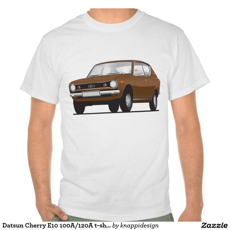 Datsun Cherry E10 100A/120A t-shirt  #datsun #cherry #datsuncherry #100a #datsun100a #japan #nippon #tshirt #automobile #car #tshirt #tpaita #troja