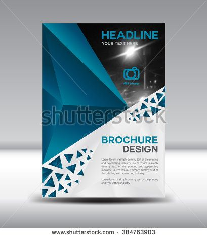 Best Brochure Flyer Template Images On