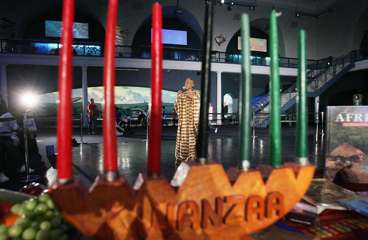 Since Kwanzaa is not a religious holiday, celebrators can be of any faith or no faith at all.