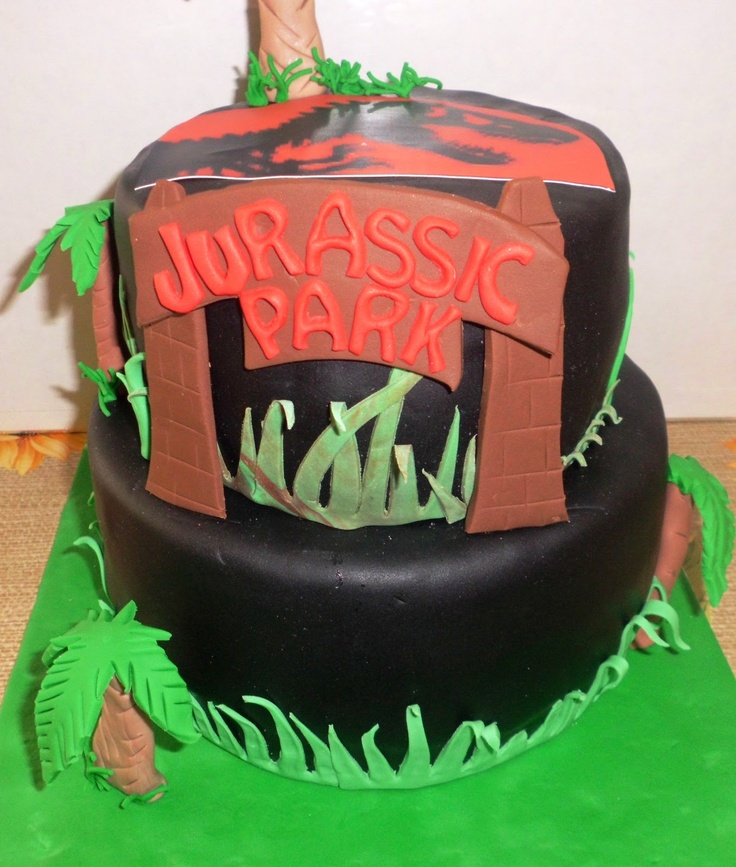 Jurassic Park Cake Torte Decorate Pinterest Parks