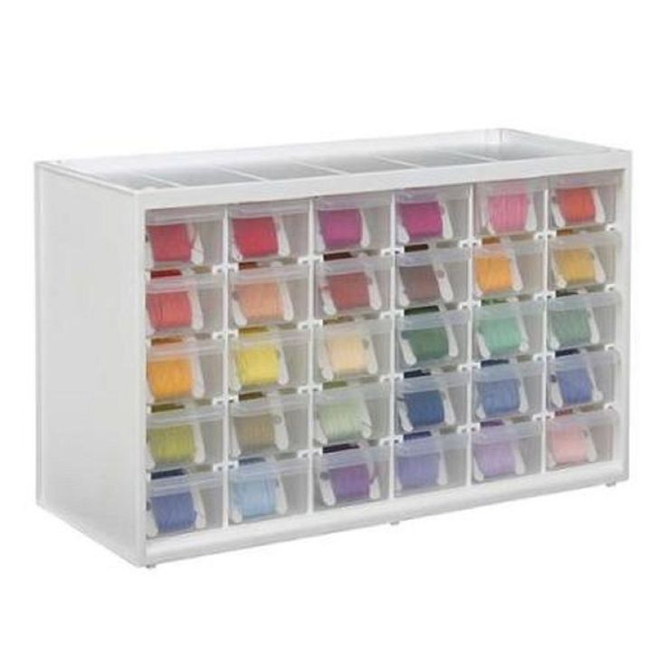 translucent craft storage cabinet sewing needlework tools. Black Bedroom Furniture Sets. Home Design Ideas