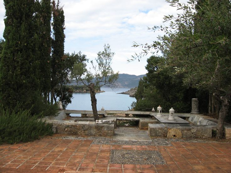 patrick leigh fermor's greek house