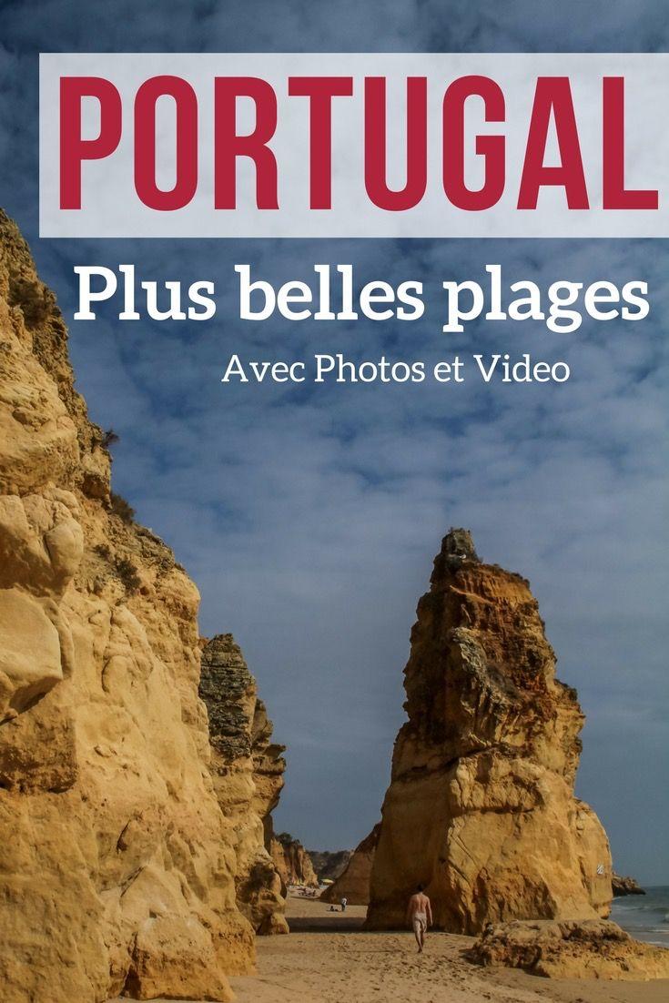 Découvrez en photos et video les plus belles plages du Portugal - Algarve et ailleurs - des falaises à couper le souffle, des formations rocheuses de toutes formes et des sables entre doré et blanc    Portugal Paysage   Portugal Plage   Algarve Portugal   Algarve Plage   Portugal voyage