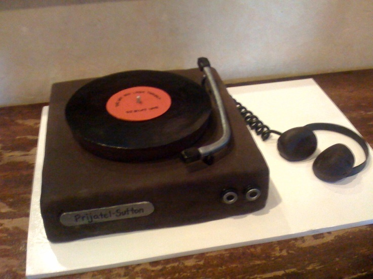 how to make a record cake