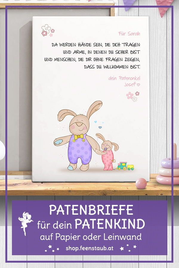 Patenkind spruch patentante Stolze patentante