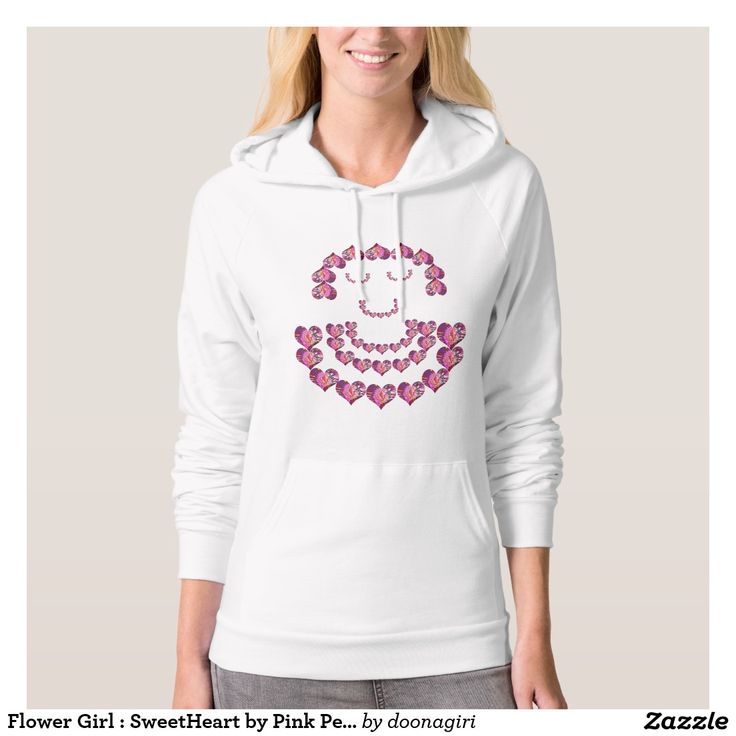 Flower Girl : SweetHeart by Pink Petals Sweatshirts