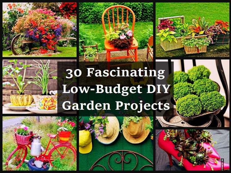 815 Best GARDEN CRAFTS AND DECORATING Images On Pinterest