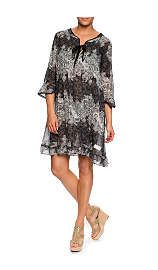 Klänning Caribou Dress ALMOST BLACK - midsummer night - Raglady