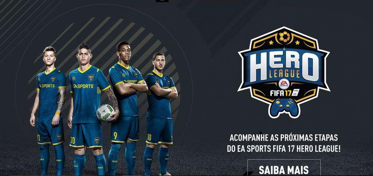 Programação de Sábado: Assista à Final do EA Sports Fifa 17 Hero League - http://www.showmetech.com.br/final-do-ea-sports-fifa-17-hero-league/
