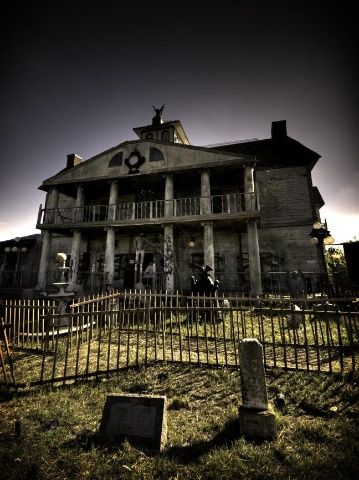 Whatever or where ever this place is..... it is spooky but still intriguing...it must've been a funeral home at one time right?